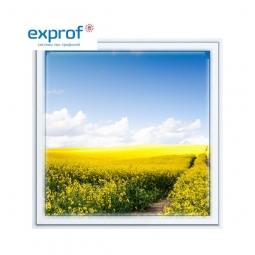 Окно ПВХ Exprof 600х600 мм одностворчатое Г 3 стеклопакет