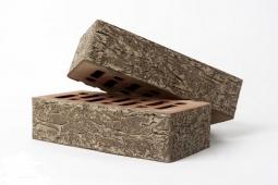 Кирпич лицевой керамический Альберо Бронза пустотелый одинарный