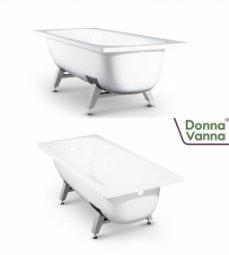 Ванна ВИЗ Donna Vanna стальная c антибактериальным покрытием 105x65x36.5
