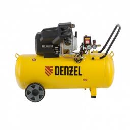 Компрессор воздушный Denzel DKV2200/100 Х-PRO 400 л/мин. 2.2 кВт