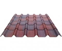 Черепица Ондувилла коричневый 3D 1060х400х3