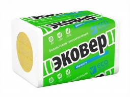 Базальтовый утеплитель Эковер Лайт 30 1000х600х50 мм / 12 пл.