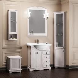 Комплект мебели Opadiris Клио 70 Белый (беленый бук, Weiss)