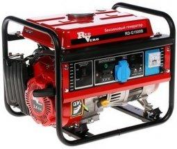 Генератор бензиновый RedVerg RD 1500B/RD-G1500B 850/1000 Вт ручной запуск
