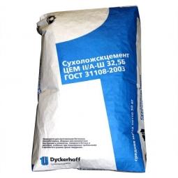 Цемент Сухоложский ЦЕМ II/А-Ш 32,5Б (ПЦ-400 Д20) 50кг