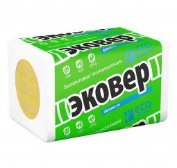 Базальтовый утеплитель Эковер Вент Фасад 70 1000х600х100 / 4 пл.