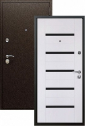 Металлическая дверь Старк Царга, Йошкар-Ола, 960*2050, эшвайт мелинга