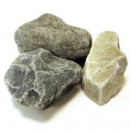 Камень для бани Огненный камень Кварцит для электрокаменок 20 кг (фр.40)