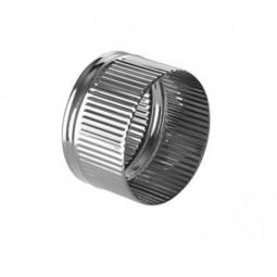 Заглушка нержавеющая Ferrum П 430/0.5 мм ф115 внутренняя