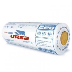Стекловолоконный утеплитель Ursa Geo М-15/50 2х8500х1200х50 мм / 2 шт.