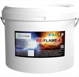 Огнезащитное сверхтонкое полимерное покрытие RE-FLAME, 3 кг