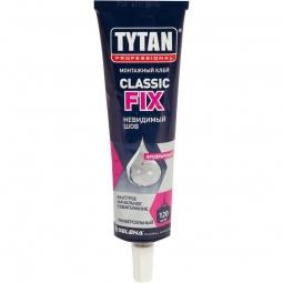 Клей монтажный Tytan Classic Fix 100 мл прозрачный