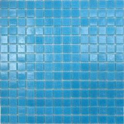 Мозаика Elada Econom на сетке A32 темно-голубая 32.7x32.7