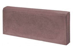 Бордюр Односторонний Вибролитой 500х210х70 Коричневый
