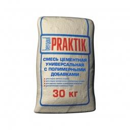Смесь Bergauf Praktik цементная универсальная с полимерными добавками зимняя 30 кг