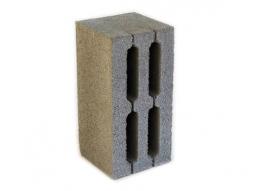 Каменный блок 4-х пустотный 390х190х188  М 100