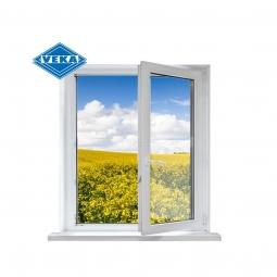Окно ПВХ Veka 600х600 мм одностворчатое ПО 3 стеклопакет