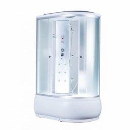 Кабина душевая Aquacubic  3106B L 1200х800х2200 мм Fabric white
