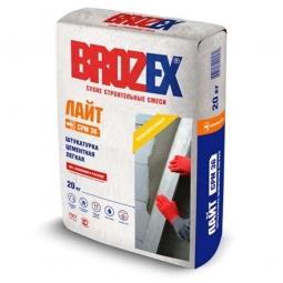 Штукатурка Brozex Лайт CPM-36 цементная легкая 1 кг