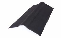 Коньковый элемент Ондулин сланец черный длина - 1м, полезная длина 0,85 м