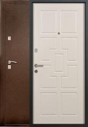 Металлическая дверь Старк Геометрия, Йошкар-Ола, 860*2050, эшвайт мелинга