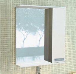 Шкаф-зеркало Comforty Манчестер 60 Венге